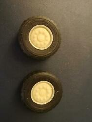 1/25 Scale  22.5  Construction Hub Wheel W/float Tires 1 Pair