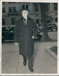 1938 Photo Chief Justice Hughes Supreme Court St Johns Episcopal Church
