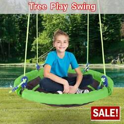 40 Flying Saucer Tree Swing Childrens Swing Easy Install Outdoor/indoor Play Us