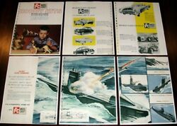 Vintage 1960 Ideal Itc Model Craft Hobby Kits Dealer Catalog Pages Cars Boats +
