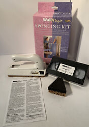 New Wall Magic By Wagner Sponging Kit Faux Finish Decorative Paint Kit W/ Video
