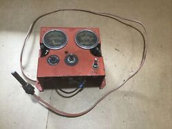 Farmall M Tractor Engine Safety Gauge Set Up