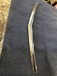 1959 Cadillac Hood Trim Front Lip Underneath Stainless Molding