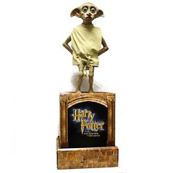 Rare Harry Potter Dobby Life-size Statue W/ Cardboard Base And Poster