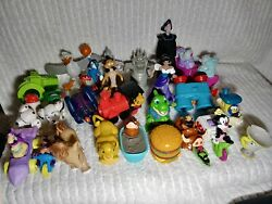 Vintage Fast Food Toy Mixed Lot Of 25 Lion King Kids Happy Meal Toys Disney