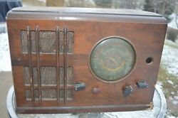 Fairbanks Morse Table Radio Model 6a Parts 1937 Not Working Parts Repair