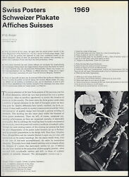 Swiss Posters. An Original Article From The Graphis International Journal Of Gra