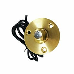 Marine City Under Water Red Led Light Waterproof Brass Drain Plug With Base...