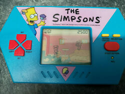 Acclaim Entertainment The Simpsons Cupcake Crisis Lcd Electronic Handheld Game
