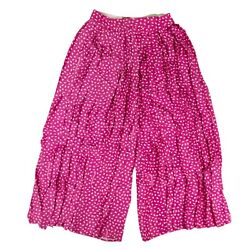 Nwt Off White C/o Virgil Abloh Pink Pleated Oversized Pants Size 6/42 1485