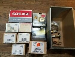 Schlage Various Locks, Handles, Latches, Different Finishes