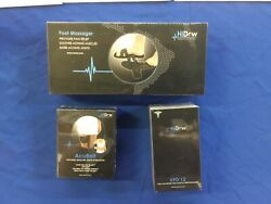 Hi-dow Xpd-12 Plus Acu Back Belt   Massager For Back Pain Hidow-and Foot Massage
