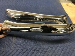 1959 Cadillac Convertible Front Seat Lower Chrome Trim Coupe Nice