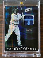 2019 Wander Franco Panini National Convention Nscc Relic Rc 1/1 -1 Mlb Prospect