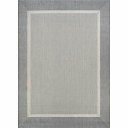 Recife 8and0396w X 8and0396l Power-loomed Stria Texture Area Rug In Champagne/gray