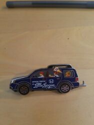 2012 Official Vehicle Of Little League Collector Pin - Honda Suv World Series