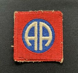 Ww2 Us 82nd Airborne Cloth Patch X 100 Original Formation Sign