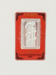 Pamp Suisse 2013 Year Of The Snake 1 Oz .999 Silver Bar