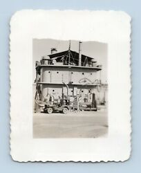 1950s Us Navy Barrack Ship Condemned By Order Of C.o. Photos Seabees Mcb-6
