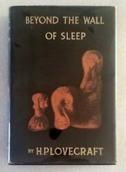 Beyond The Wall Of Sleep By H. P. Lovecraft - Arkham House - 1943 1st - G/vg