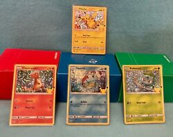 2021 Pokemon Mcdonalds 25th Anniversary Cards All 50 Holo Andnon Complete Your Set