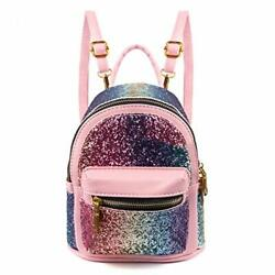 SEALINF Women Girl Bling Mini Backpack Convertible Shoulder Cross Bags Purse ... $40.04