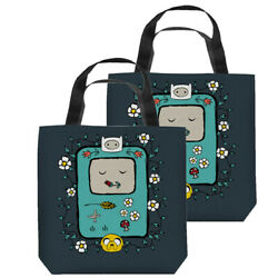 Adventure Time Title Double Sided Tote Bag