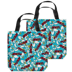 Adventure Time Ik Pattern Double Sided Tote Bag
