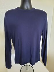 1395 Mens Millionare 1 Ply Cashmere Sweater Rare Nwt Size Large