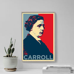 Lewis Carroll Art Print And039hopeand039 - Photo Poster Gift - Alice In Wonderland