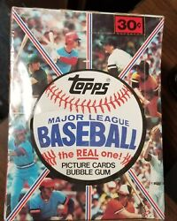 1981 Topps Baseball Hobby Wax Box 36 Packs Bbce Wrapped Great Investment