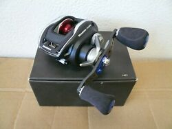 New Megabass Fx68l Fishing Reel With Custom Spool Handle And Knobs