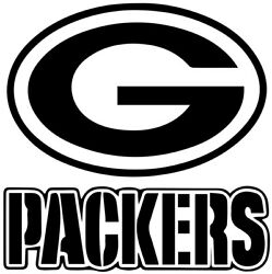Green Bay Packers Nfl Decal Sticker For Car Or Truck Or Laptop