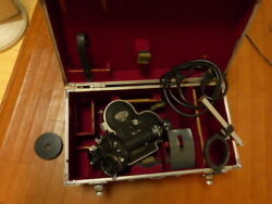 Rare Arrifex 16mm Camera With 2 Beautiful Lenses And Hard Case