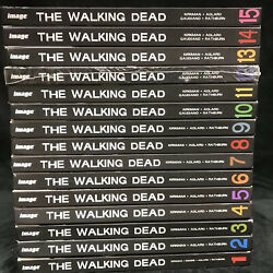 Lot Of 1-15 Walking Dead Hardcover Books - Good, Preowned Cond. - Free Shipping