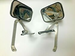 Chevrolet Blazer And Others 1970and039s Trucks Chrome Door Side Mirrors Set