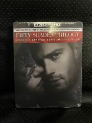 Fifty Shades Of Grey Trilogy Unrated Limited Exclusive Steelbookandtrade Edition