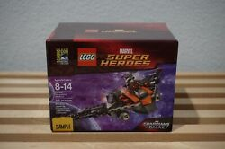 Lego Sdcc Comic Con Marvel Super Heroes Rocket Raccoon And039s Warbird Sample Sealed