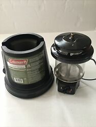 Coleman 967 Two Mantle Lumen Quickpack Propane Lantern Model 2000003049-as Is