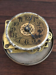 Antique Westclox Clock Works And Clock Face