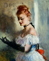Pal Fried Nycahungary1893-1976 Oil Painting