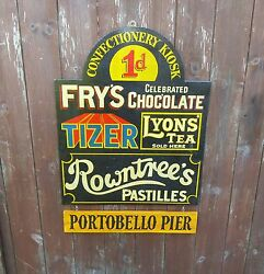 Seaside Pier Confectionery Sign