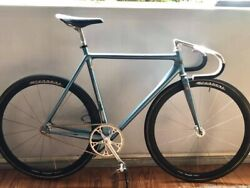 Strela Laser Pista Bicycle W/ Campagnolo Record Pista And Shamal