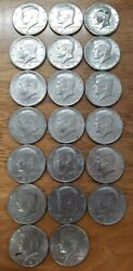 32× Kennedy Half Dollar Ddr- Exact Coins Pictured - Minting Error Rare