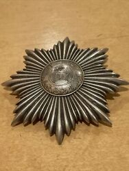 Afghanistankingdomorder Of The Star2nd Class Star 84mm Silver Type I 1923