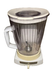 Vintage Cream/white General Electric Blender 3 Settings Number 41bl1 Usa Made