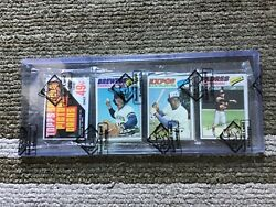1977 Topps Baseball Rack Pack With Tom Seaver On The Back Auth By The Bbce