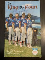 Eddie Feigner The King And His Court Autographed Program