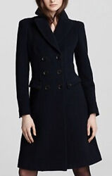 Prorsum Stancombe Ottoman Double Breasted Wool Coat Womenandrsquos Us 8 Uk 10