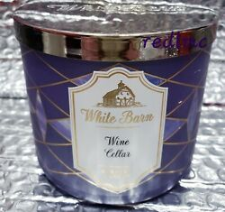 Wine Cellar White Barn Bath And Body Works 3 Wick 14.5 Oz Candle New Ships Free